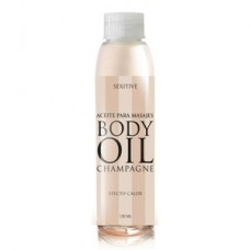 BODY OIL ACEITE CHAMPAGNE-Efecto Calor