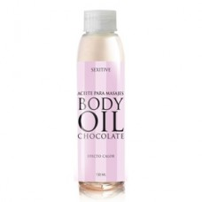 BODY OIL ACEITE CHOCOLATE-Efecto Calor