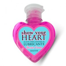 Aceite Lubricante Show Your Heart Berries Cream