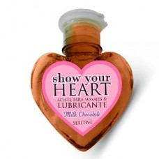 Aceite Lubricante Show Your Heart Milk Chocolate