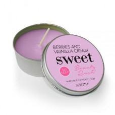 Sweet Massage Candle Berries & Vainilla Cream